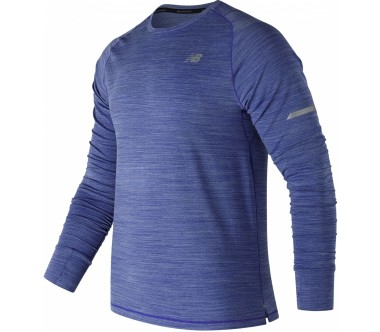 New Balance - Seasonless UPF LS men's running top (blue)