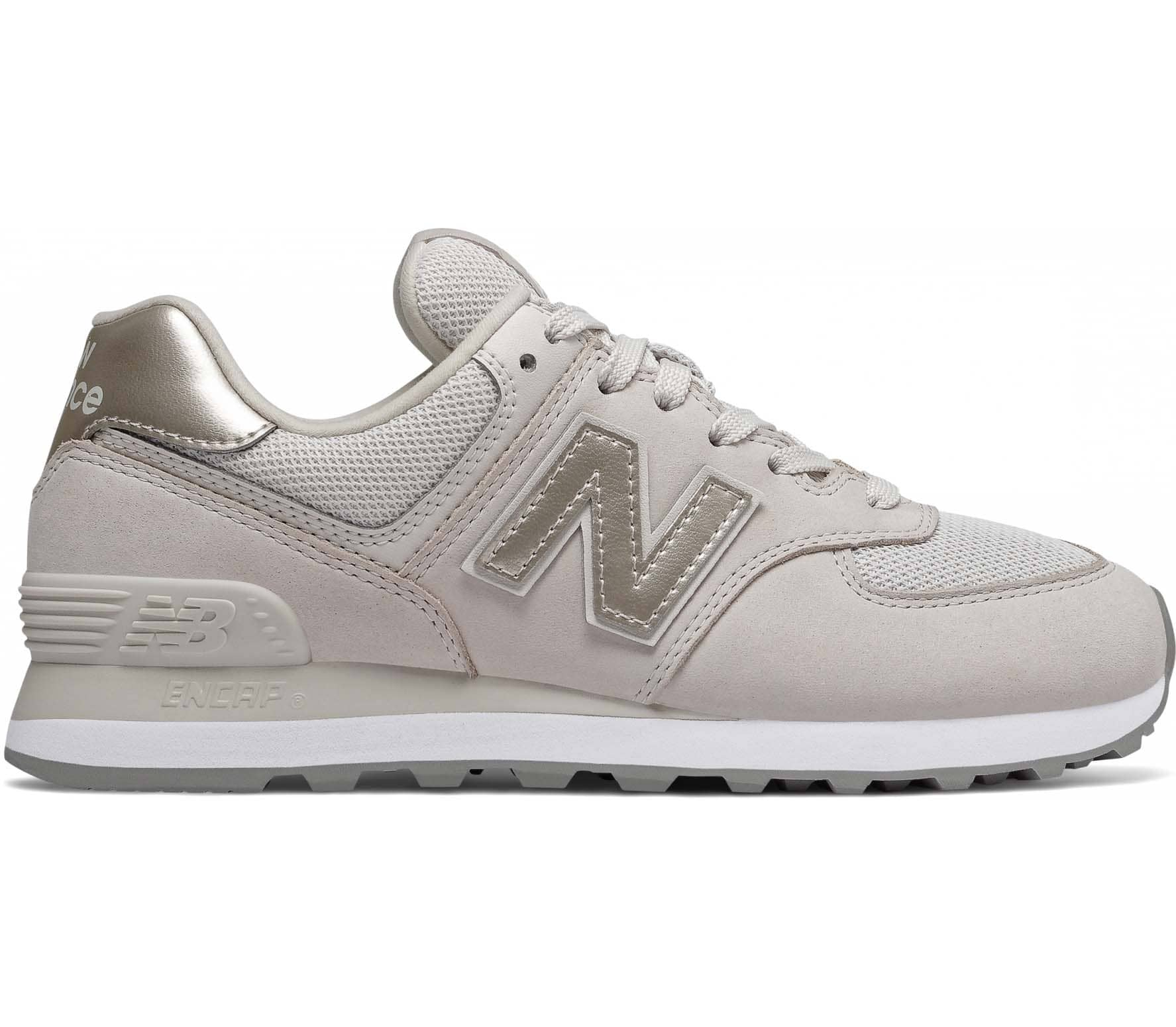 New Balance 574 Dames Sneakers wit