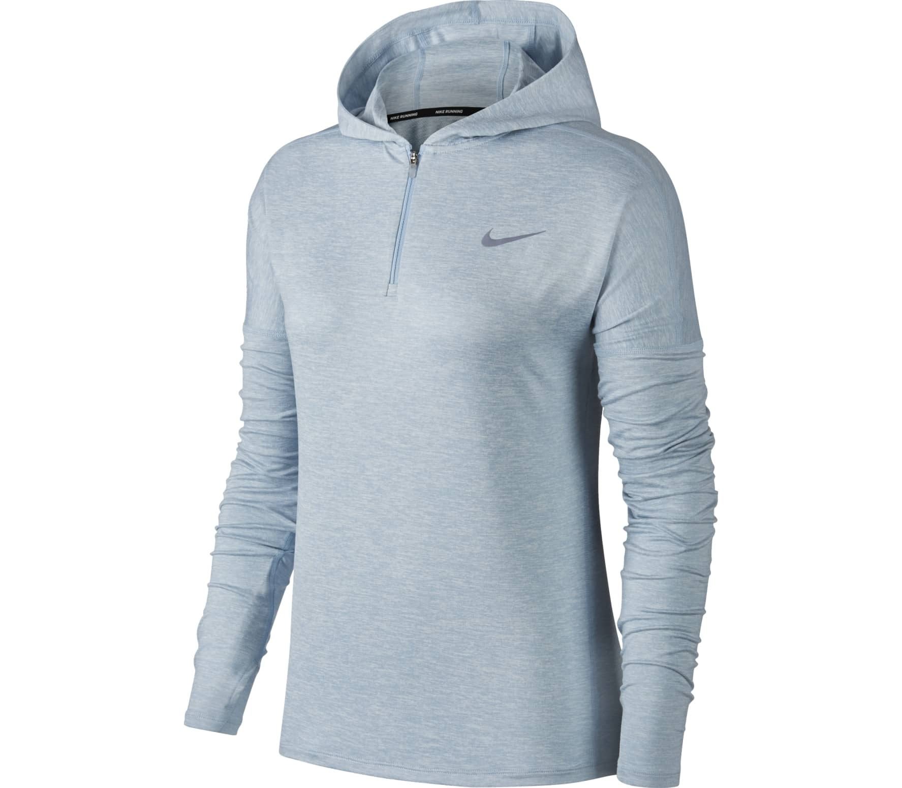 c0fc2c4438e3 Nike - Dry Element women s running hoodie (light blue) - buy it at ...