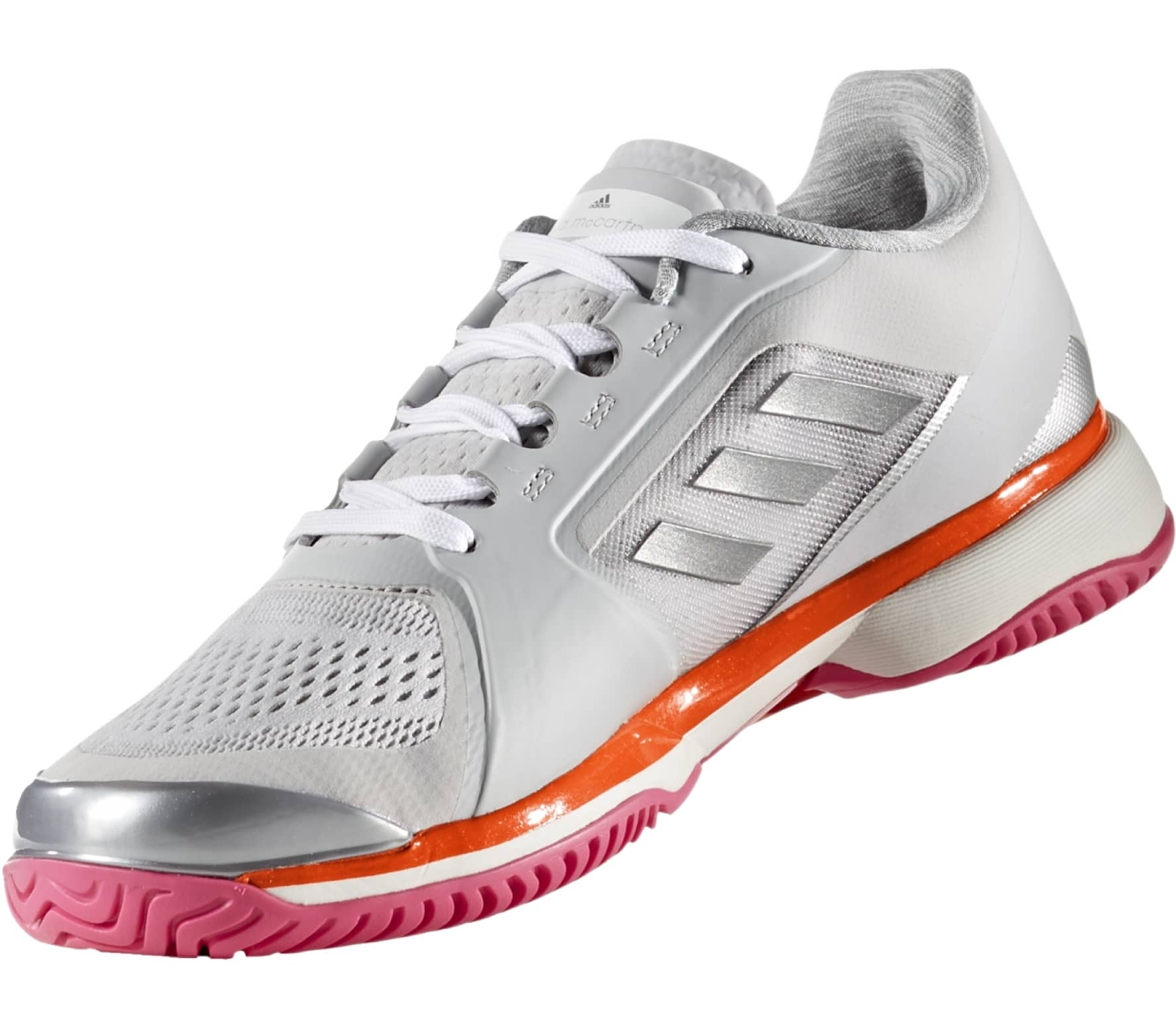 sports shoes 0c632 18f1a Adidas - aSMC Barricade 2017 womens tennis shoes (greypink)
