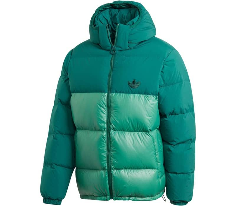 Blocked Puffer Men Down Jacket
