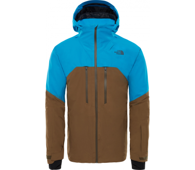 The North Face - Powder Guide Herren Skijacke (blau/braun)