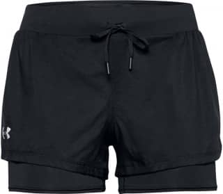Under Armour Qualifier Speedpocket 2-In-1 Damen Laufshorts