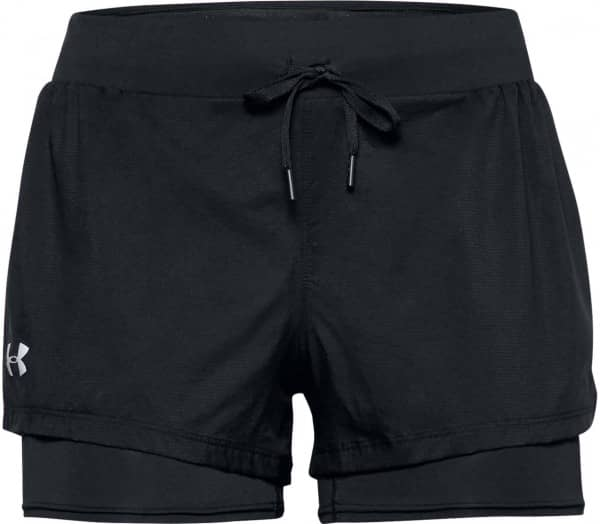 UNDER ARMOUR Qualifier Speedpocket 2-In-1 Women Running Shorts - 1
