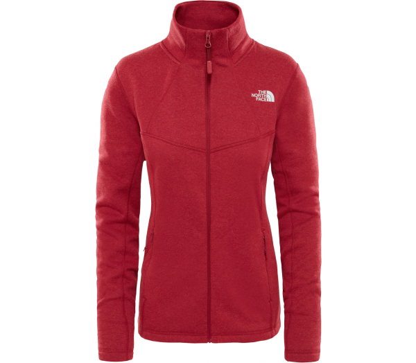 THE NORTH FACE Inlux Wool Full-Zip Damen Funktionsjacke - 1