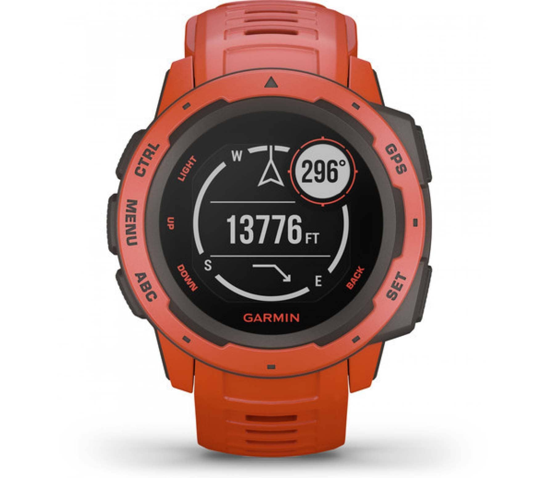Garmin - Instinct outdoor watch (red)