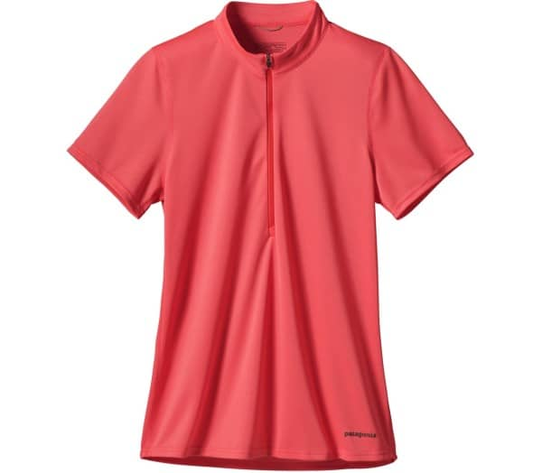 PATAGONIA Fore Runner Zip Neck Shortsleeve Women T-Shirt - 1