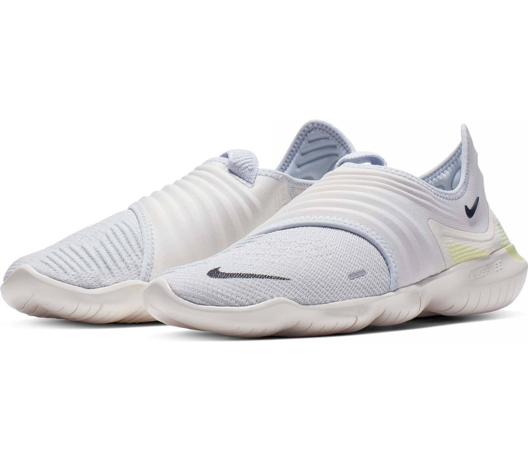 new concept b3ca8 ba897 Nike Free RN Flyknit 3.0 Hommes Chaussures running blanc
