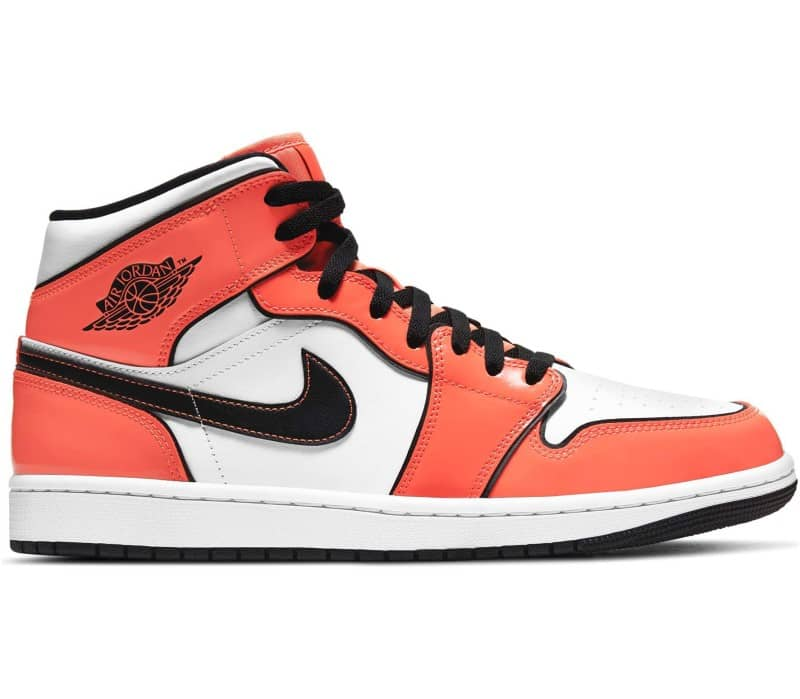 Air Jordan 1 Mid 'Turf Orange' Herr Sneakers