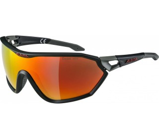 Alpina S-Way L CMR+ Bike Brille Unisex