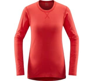 L.I.M Mid Roundneck Dames Functionele Top