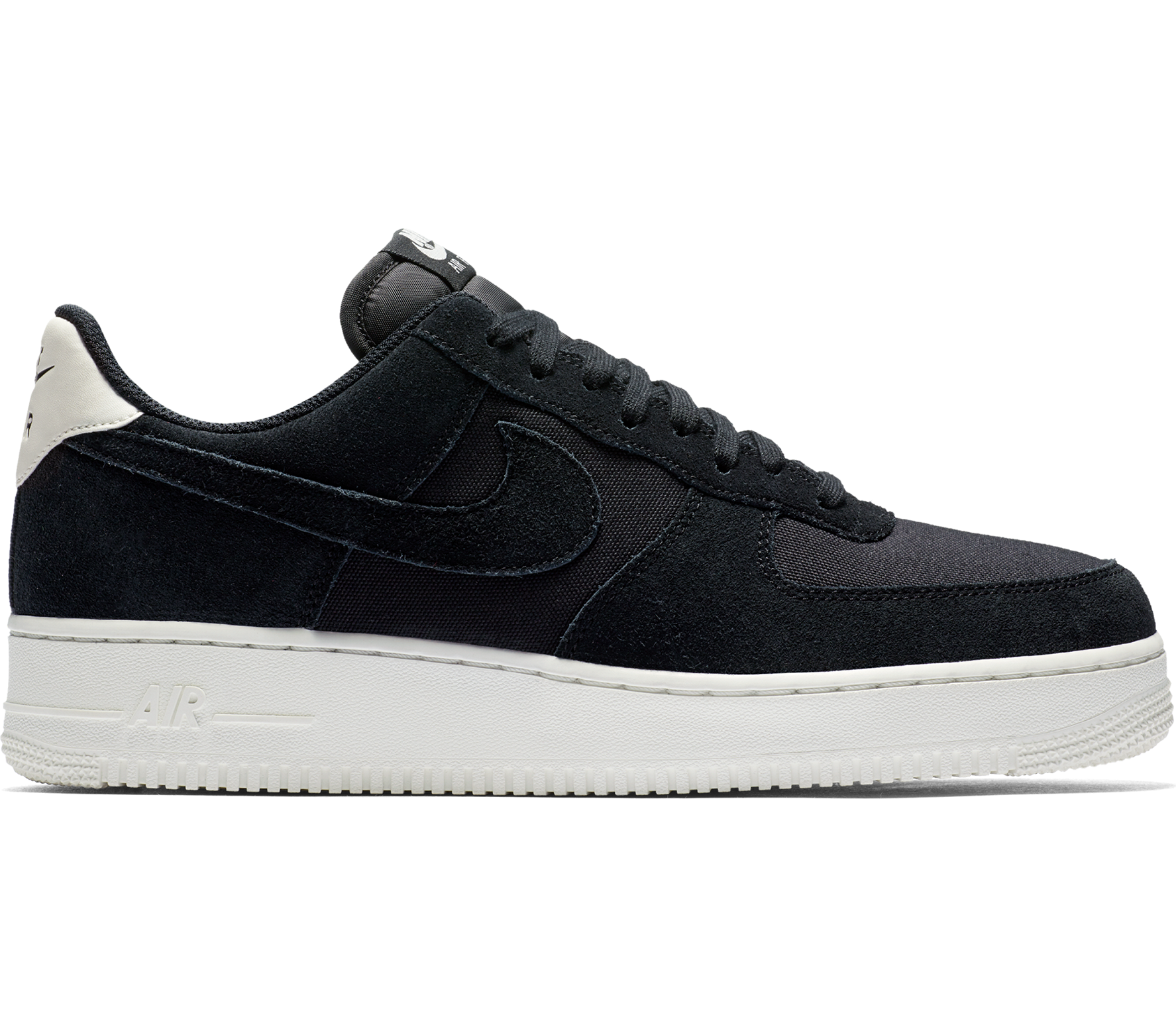 huge selection of 85901 4e882 Nike Sportswear - Nike Air Force 1  07 Suede men s trainers (black)