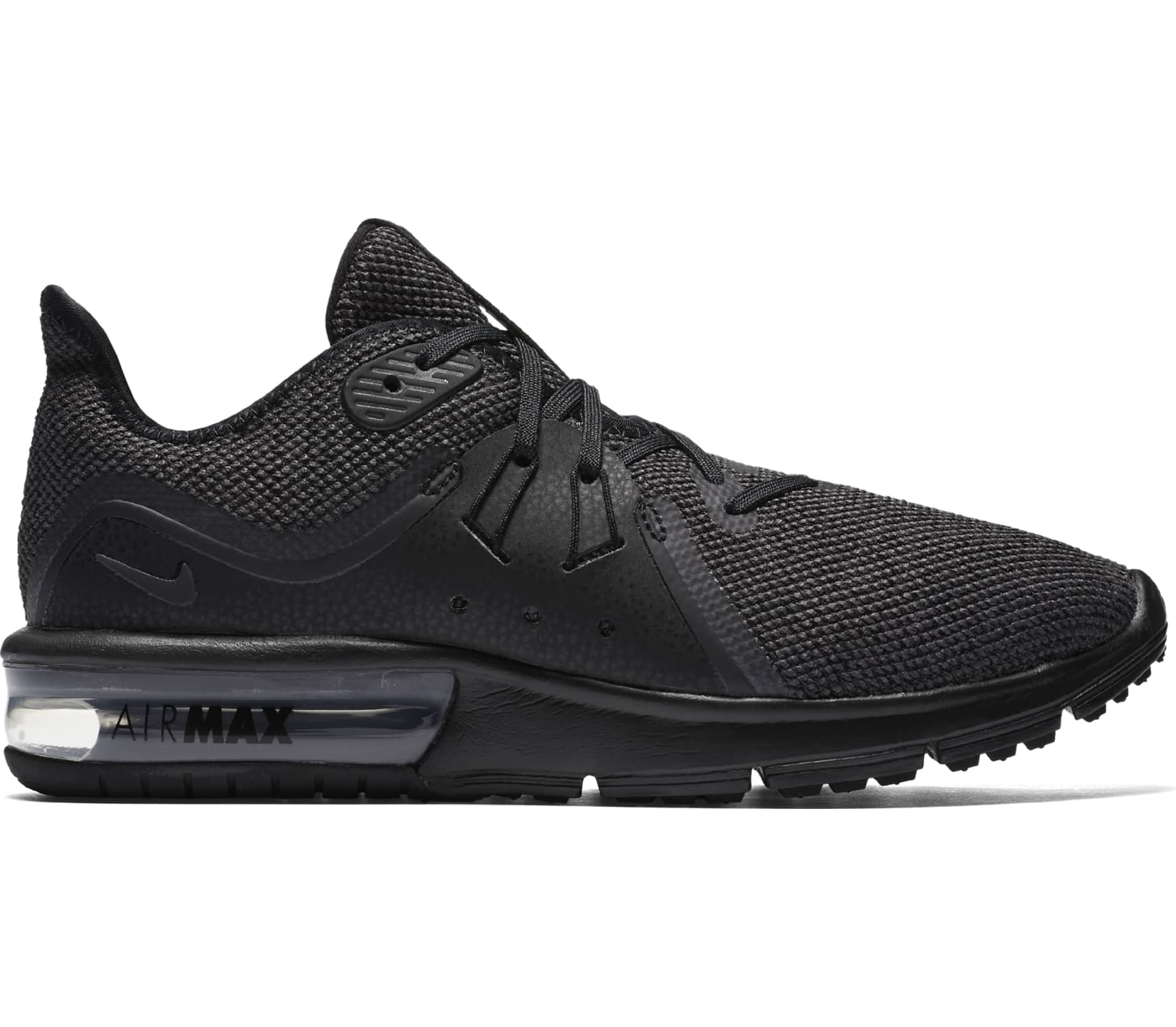 buy popular 2a452 a5500 Nike - Air Max Sequent 3 women s running shoes (black)