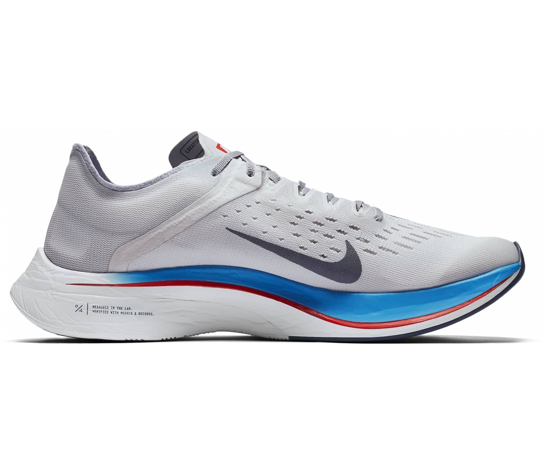 9ede7eff1e450 Nike - Zoom Vaporfly 4% Unisex running shoes (grey) - buy it at the ...