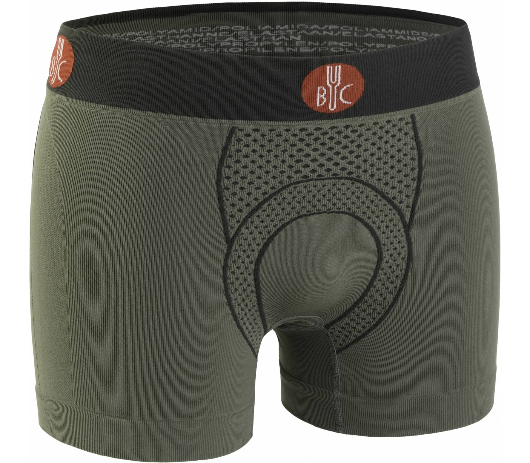 For.Bicy - Urban Life Herren Bike Boxer (grün/anthrazit)