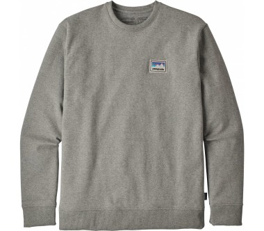 Patagonia - Shop Sticker Patch Uprisal Crew men's sweatshirt (grey)