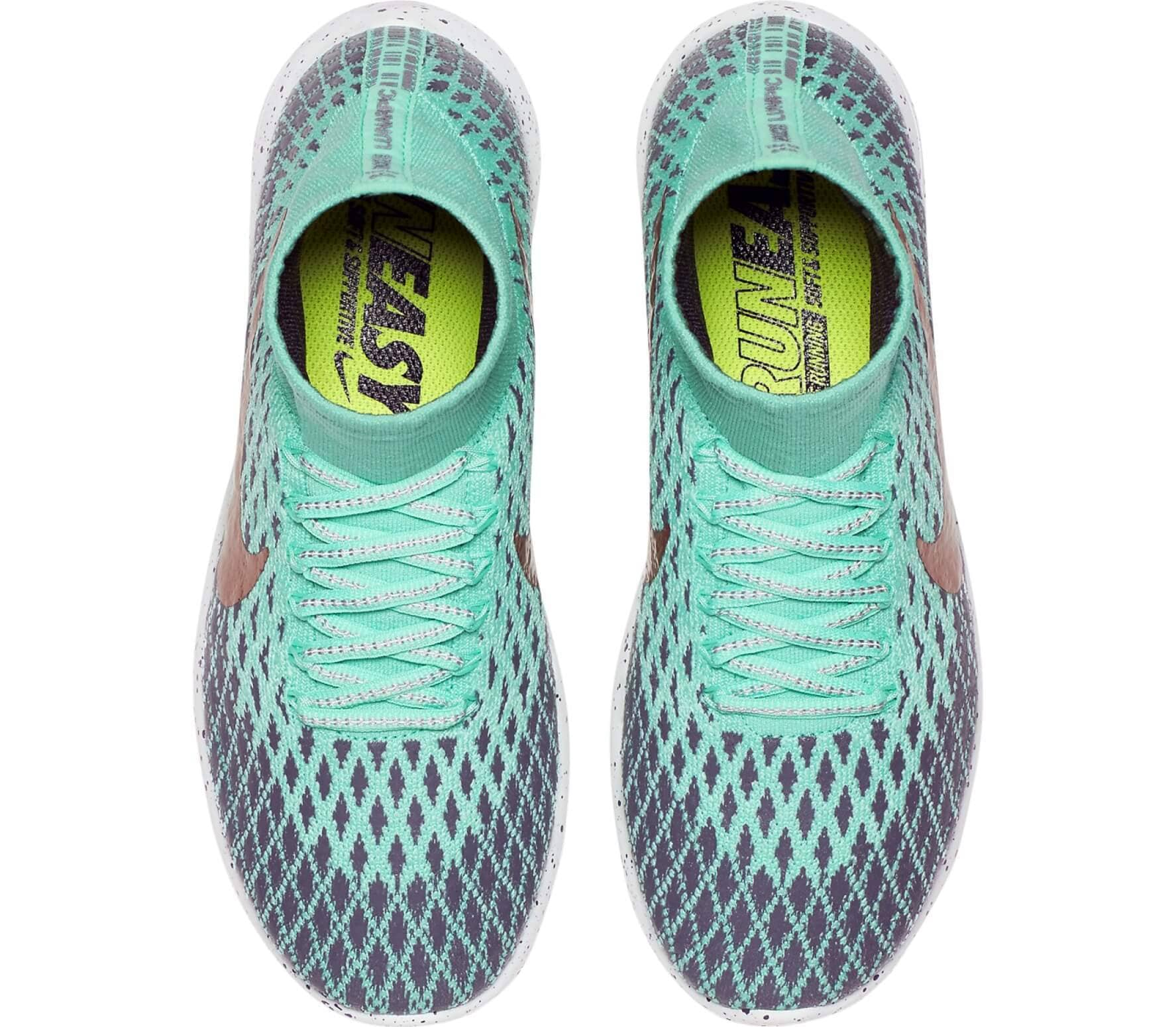 outlet store 21df1 bc3b8 Nike - LunarEpic Flyknit Shield women's running shoes (green/grey)