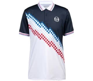 Sergio Tacchini Check Women Tennis Polo Shirt