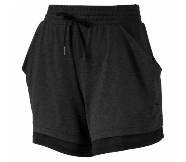 PUMA Soft Sports Drapey Damen Shorts - 1