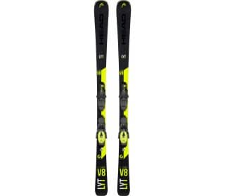 V-Shape V8 SW LYT-PR inkl. PR 11 GW BR.78 Unisex Skis with Bindings