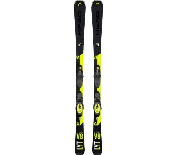 HEAD V-Shape V8 SW LYT-PR inkl. PR 11 GW BR.78 Unisex Skis with Bindings