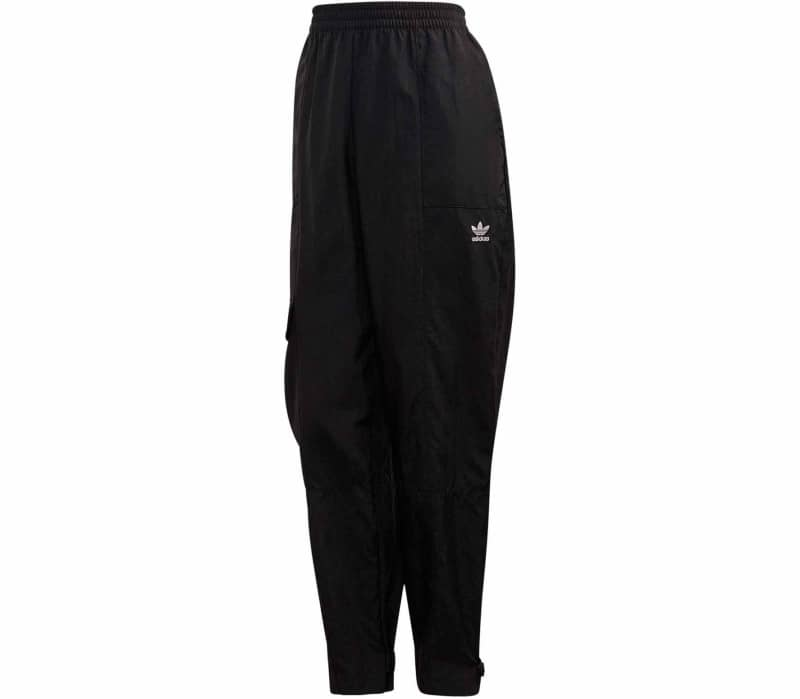 Black Damen Track Pants