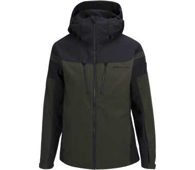 Peak Performance - Lanzo men's skis jacket (dark green)