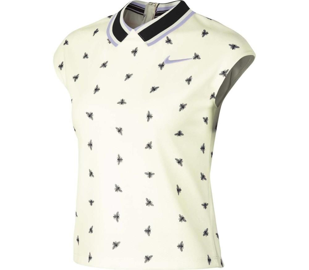 Nike Court Dri-FIT Damen Tennispoloshirt gelb