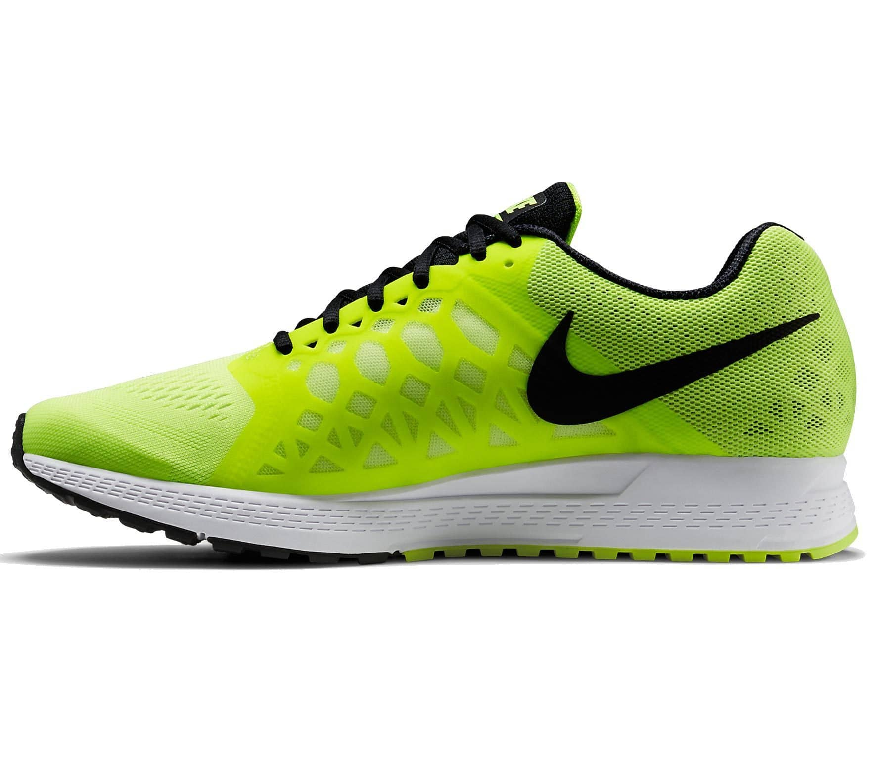 competitive price ec263 7cfc6 ... ireland nike air zoom pegasus 31 mens running shoes black yellow 0cde3  fe86a