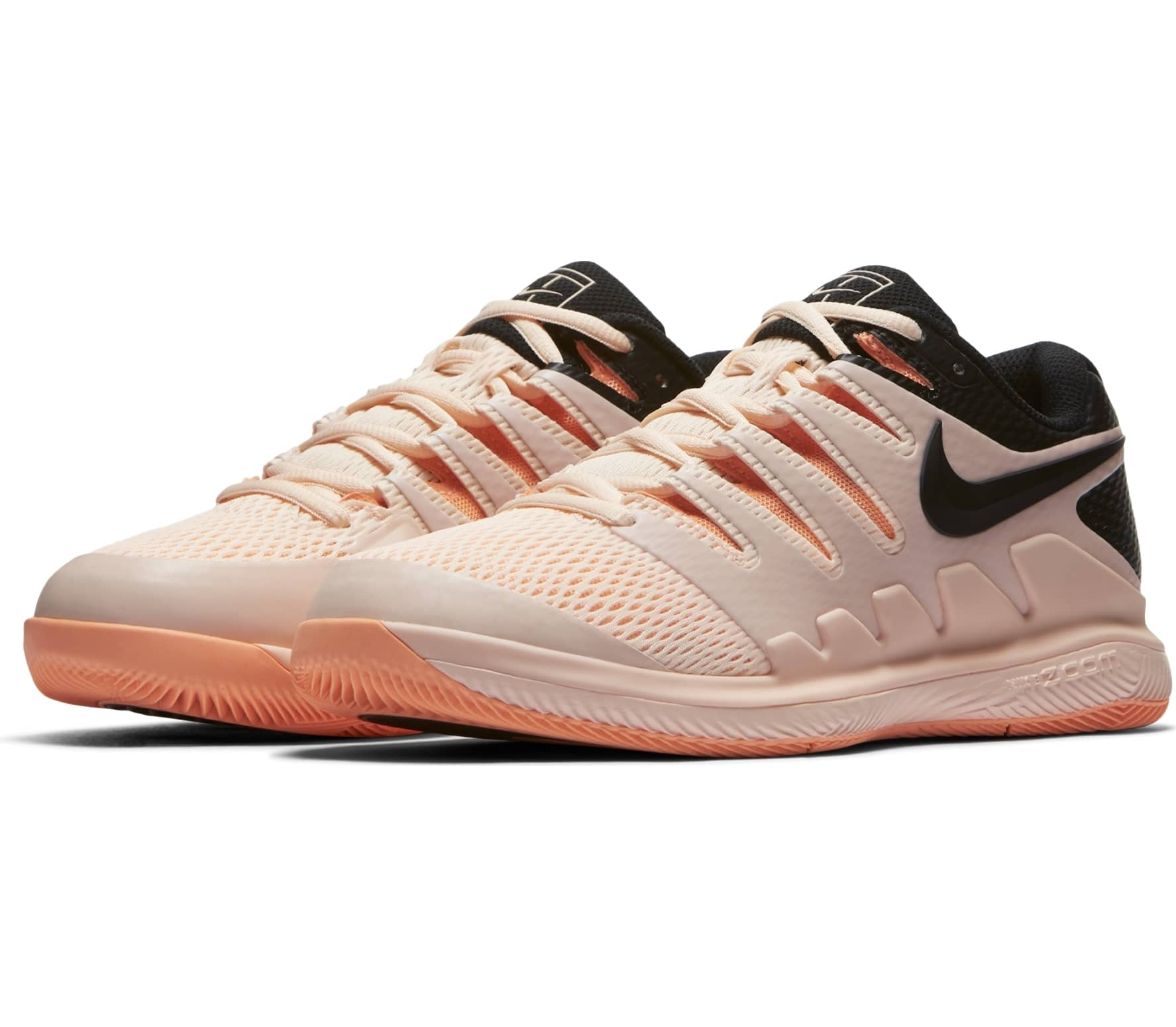 new arrivals 80368 505b6 Nike - Air Zoom Vapor X womens tennis shoes (pinkblack)