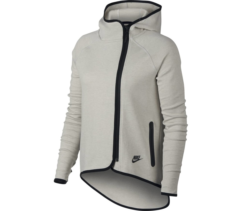 71f8b8a06002 Nike - Women s Nike Sportswear Tech fleece Cape women s fleece jacket (beige )