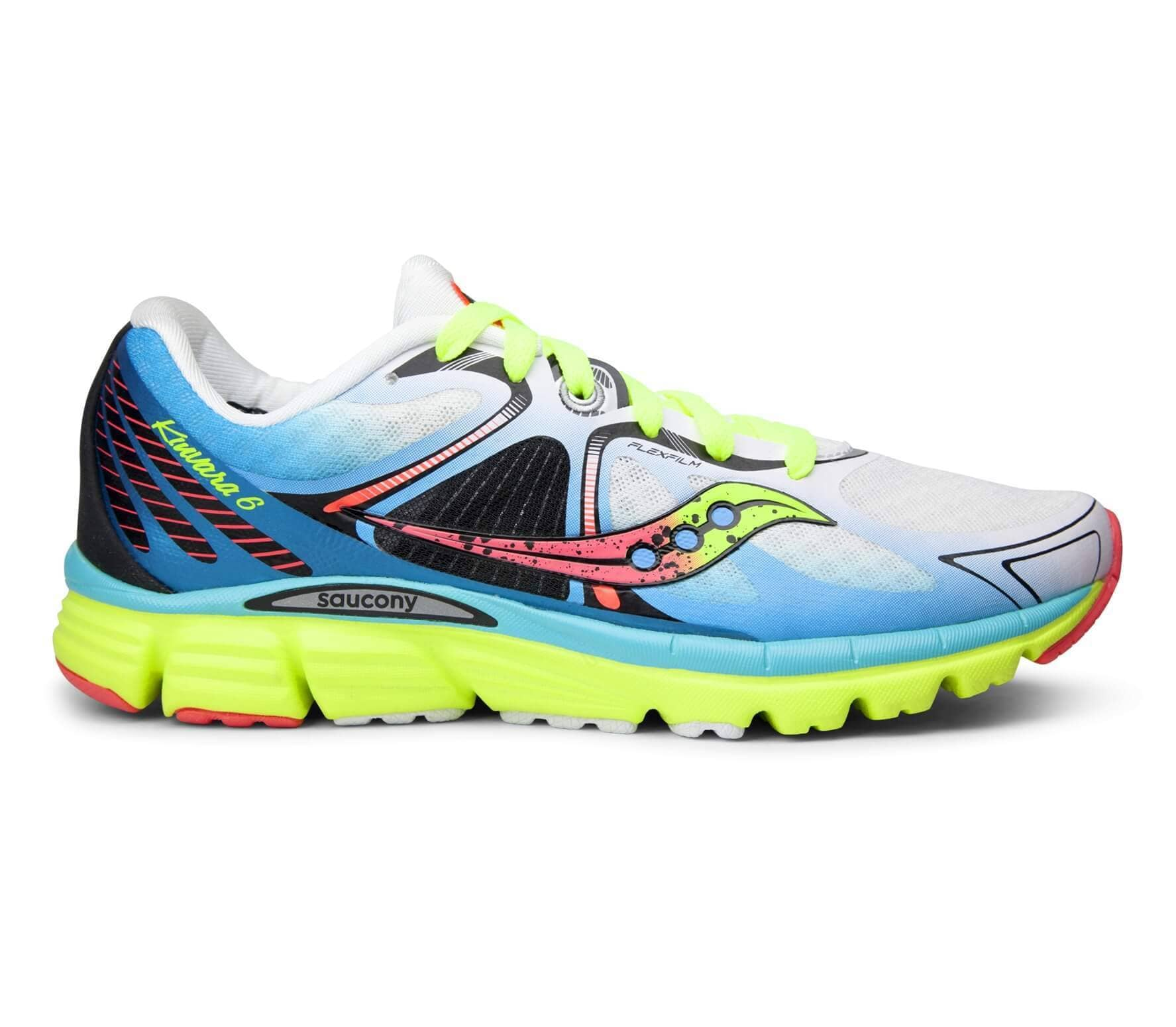 d7561dc9e2fa Saucony - Kinvara 6 women s running shoes (white blue) - buy it at ...