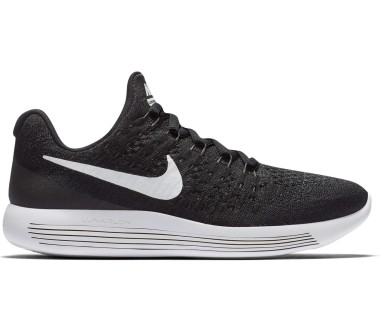Nike - Lunar Epic Low Flyknit 2 (GS) children's running shoes (black/white)