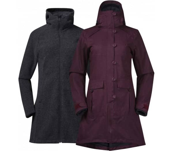BERGANS Bjerke 3in1 Women Coat - 1
