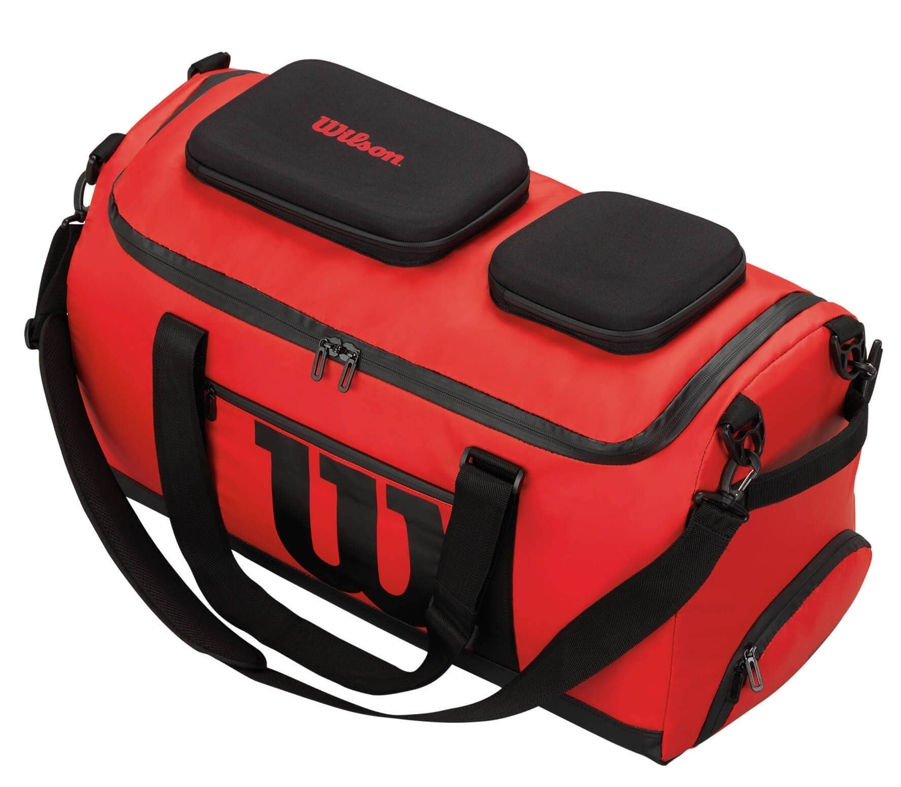 94c95b6e14 Wilson - Tech duffel bag tennis bag (red black) - buy it at the ...