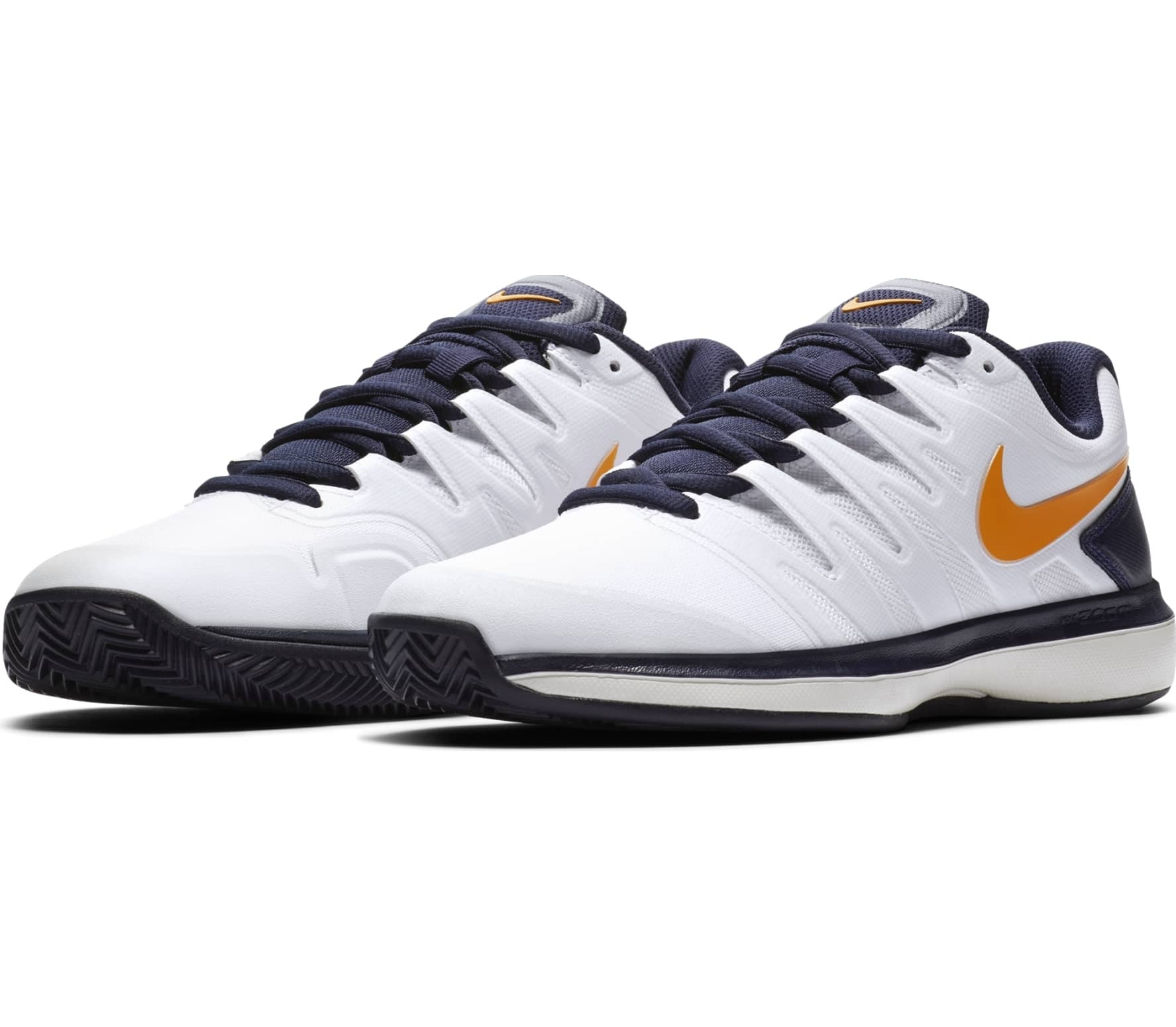 Nike Air Zoom Prestige Clay Junior Tennisschuh Enfants blanc