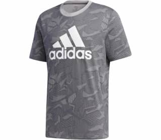 adidas All over Graphic Herren Shirt