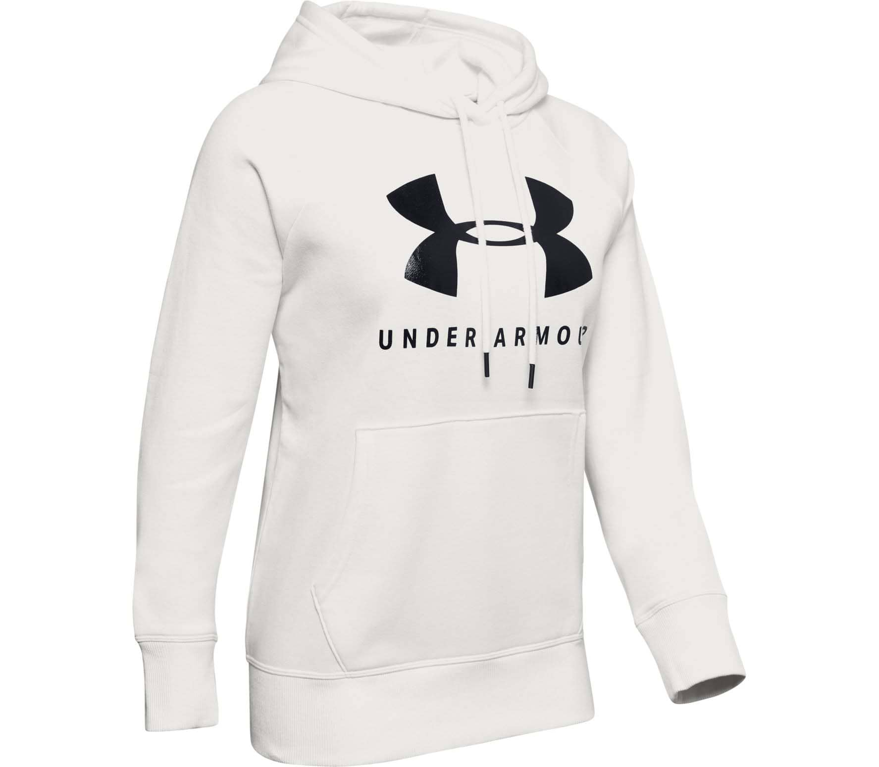 Under Armour Rival Fleece Sportstyle Dam Fleece-huvtröja XS
