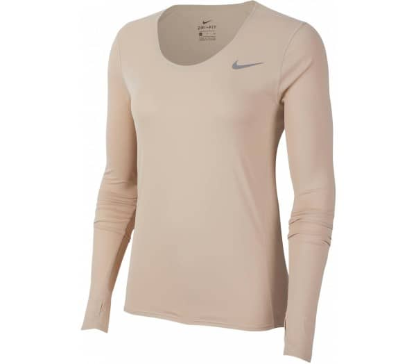 NIKE Brown Women Long Sleeve - 1