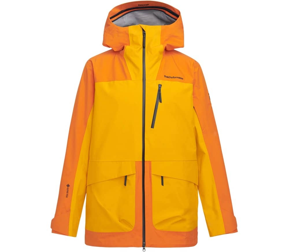 PEAK PERFORMANCE Vertical 3L Men Hardshell Jackt (yellow orange) 319,90 €