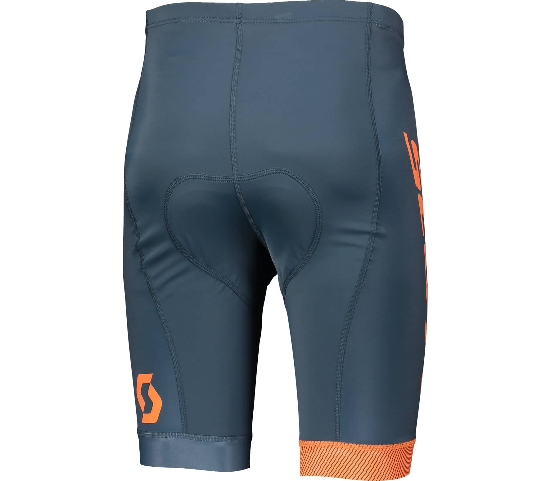Scott - RC Team men s bike shorts (dark blue orange) - buy it at the ... b530c1ef5