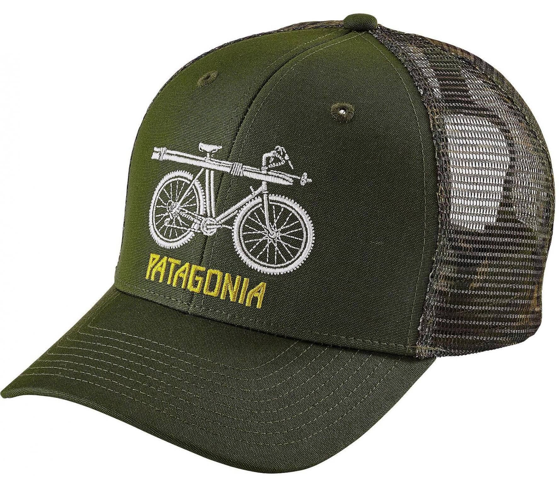 Patagonia - Snow Cycle Trucker Unisex Cap (grün)
