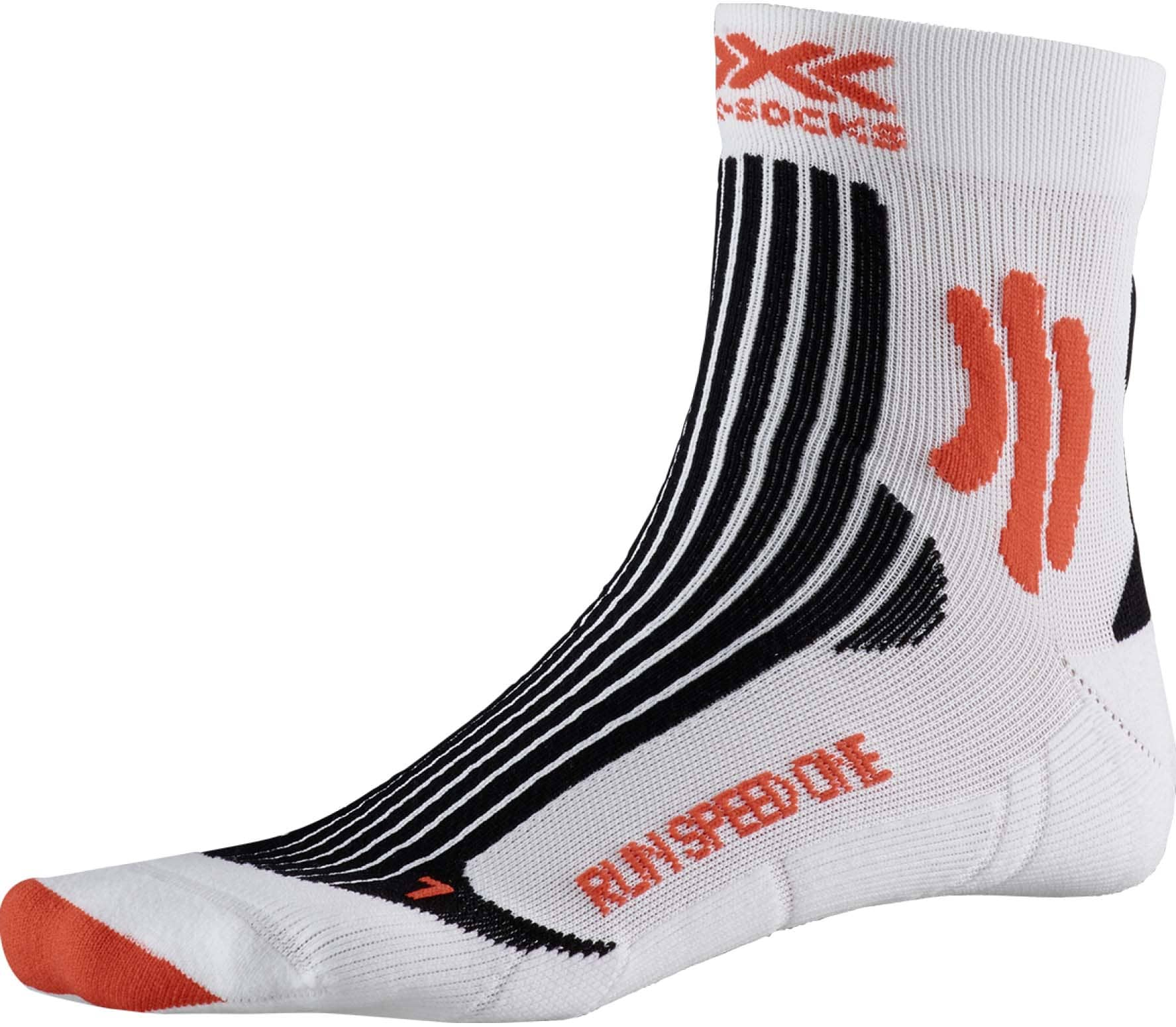 X-BIONIC Speed One Hommes Chaussette running blanc