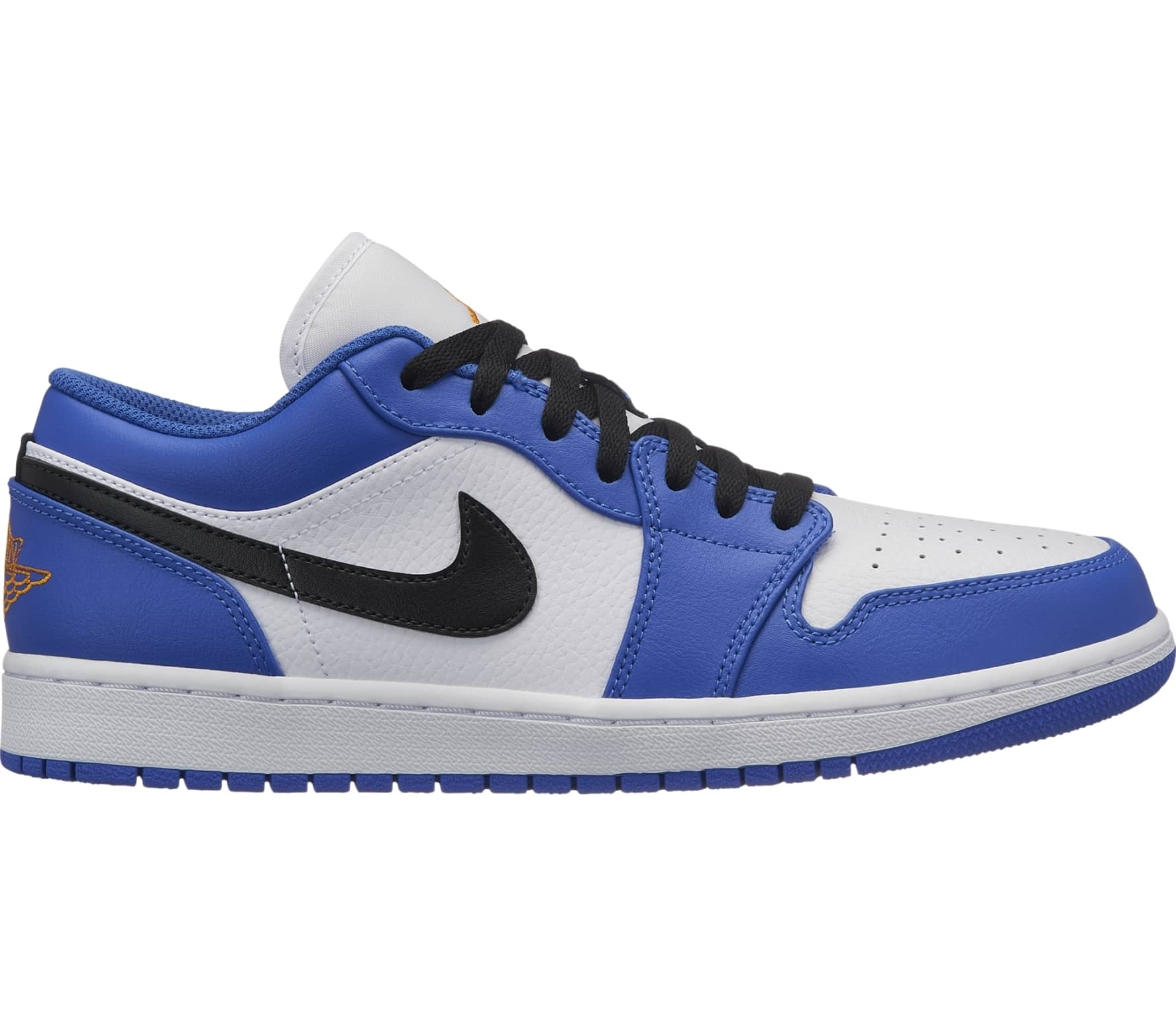 sports shoes 01d32 ba569 ... inexpensive jordan air jordan 1 low herren sneaker weiß blau 19743 d96e4