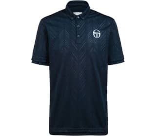 Sergio Tacchini Chevron Men Tennis Polo Shirt
