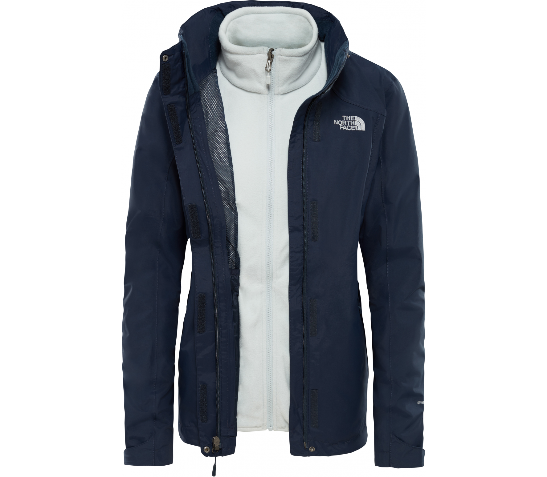 b0d7a5b407e42b The North Face - Evolution II Triclimate Damen Outdoorjacke (blau ...