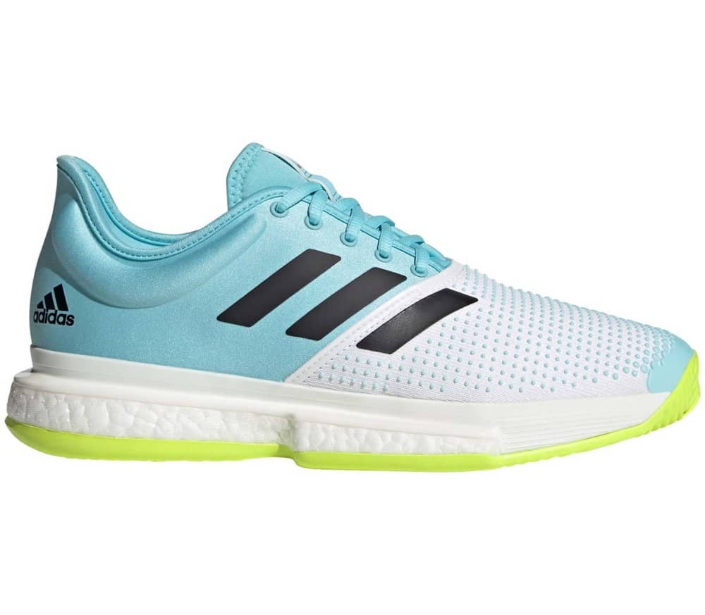 ADIDAS Solecourt Primeblue Men Tennis Shoes (white blue yellow) 143,90 €
