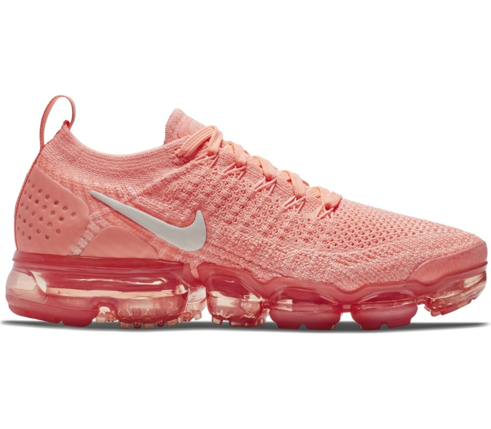 the latest 09380 e5ed6 Nike - Air VaporMax Flyknit 2 women s running shoes (coral pink)
