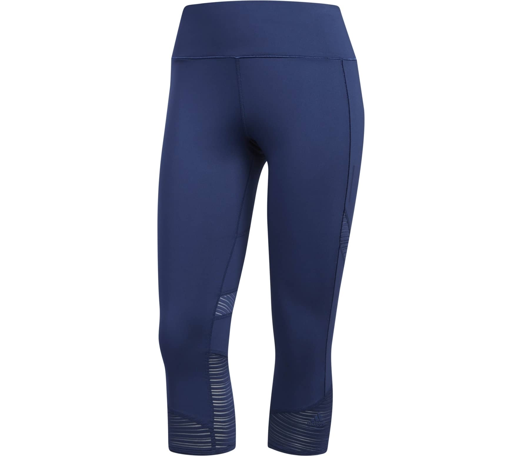 4440efecd8f Adidas - How We Do 3/4 women's running pants (blue) - buy it at the ...