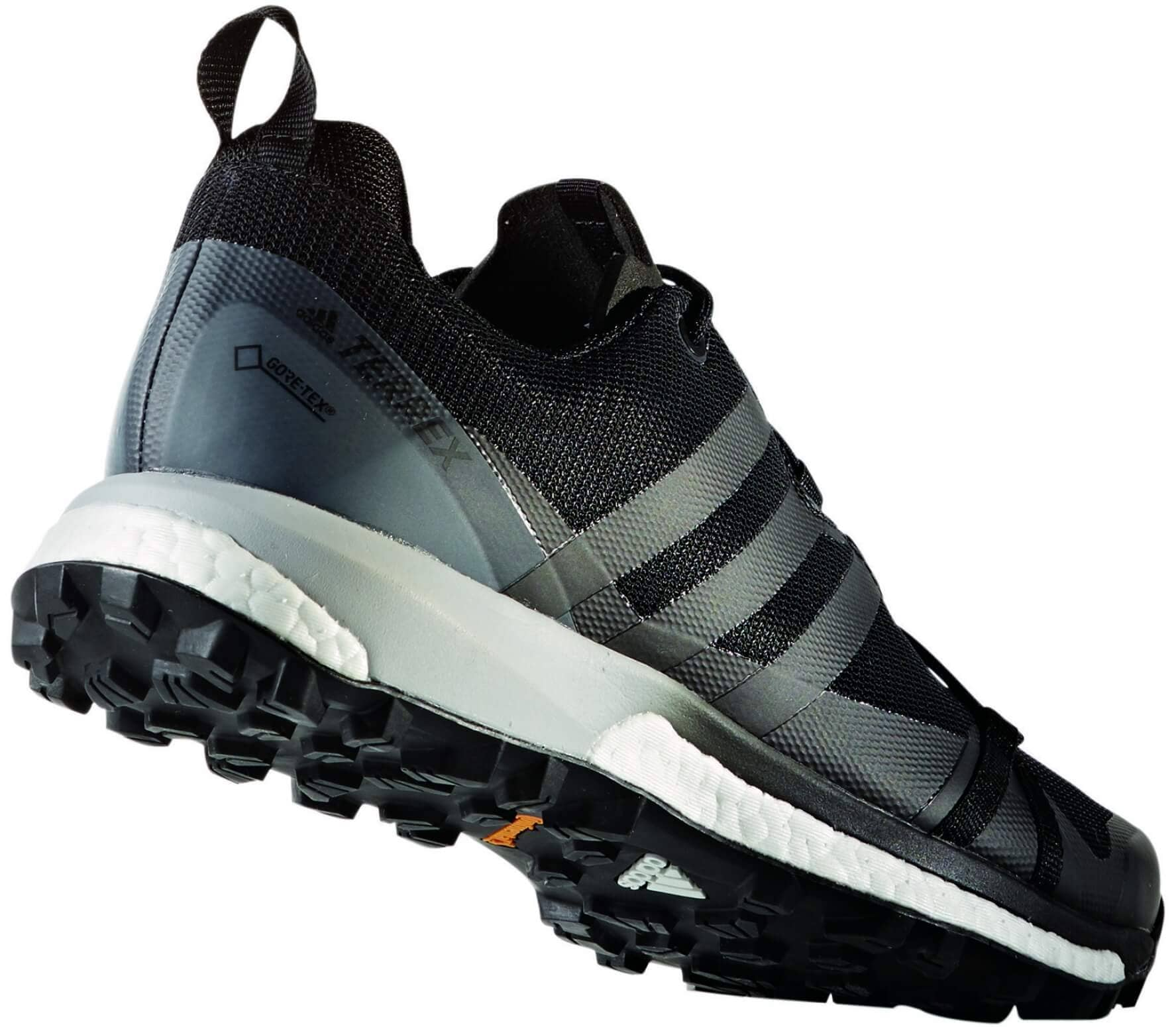 premium selection 7d069 a8119 Adidas - Terrex Agravic GTX men s Mountain running shoes (black grey)